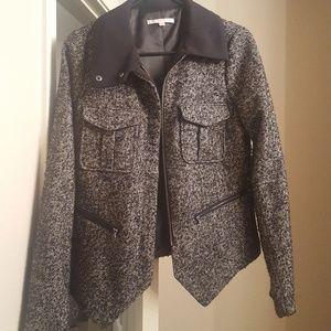 Women's Small Gap Moto Jacket / Blazer
